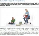 Rostoucí židle a stoly pro školáky i předškoláky
